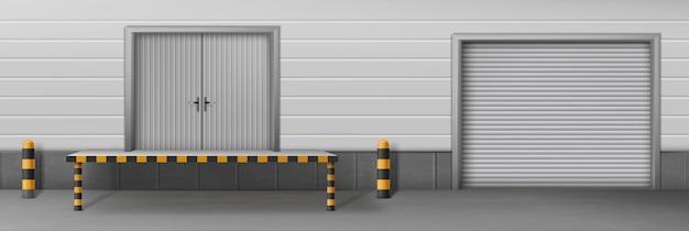 Instalação de negócios de armazenamento automático
