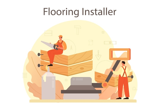 Instalador de pisos.