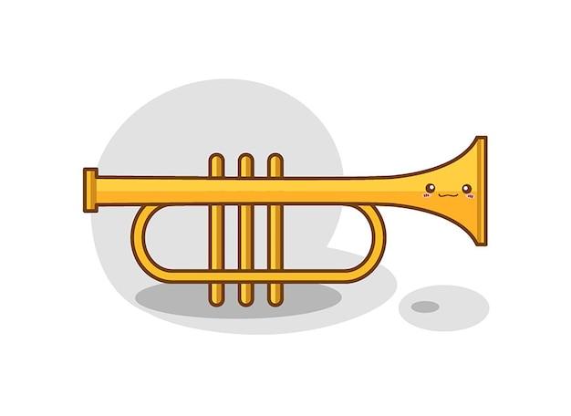 Instrumento de orquestra filarmônica de trompete de bronze