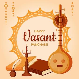 Instrumento musical vasant panchami