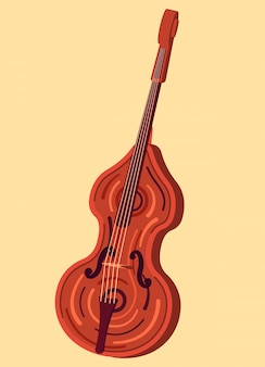 Instrumento musicial contrabaixo