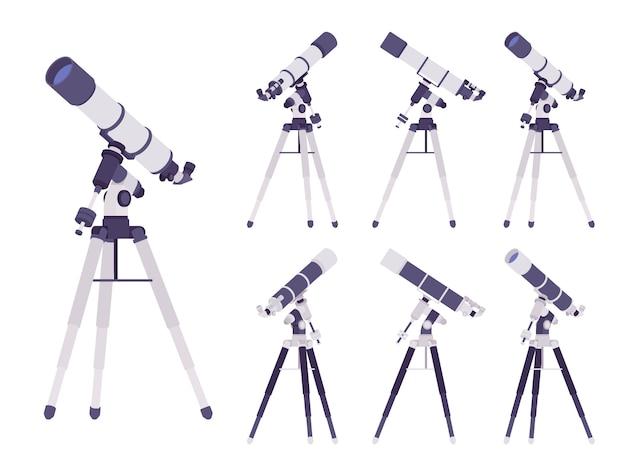 Instrumento óptico de telescópio