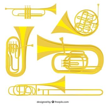 Instrumentos de ouro