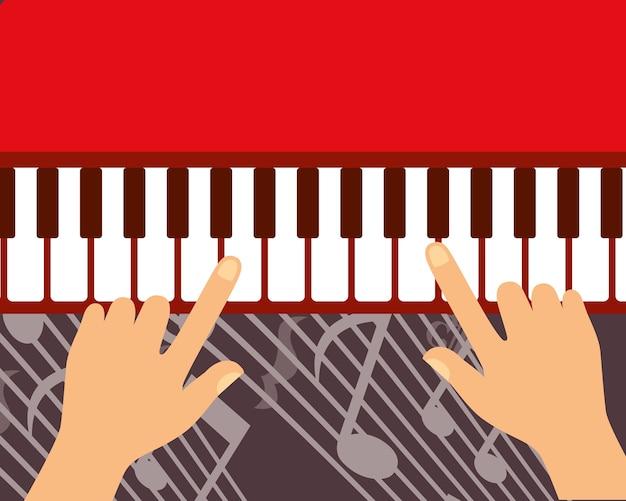 Instrumentos do festival de jazz