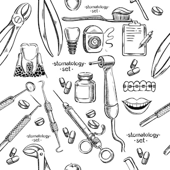 Instrumentos e equipamentos dentários sem costura