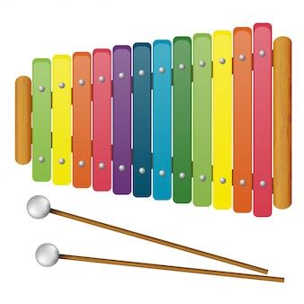 Instrumentos musicais infantis