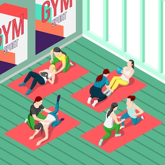 Instrutores de fitness isométricos