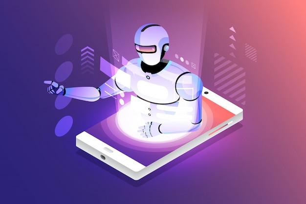 Inteligência artificial isométrica