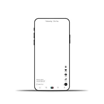 Interface de mídia social para seu aplicativo