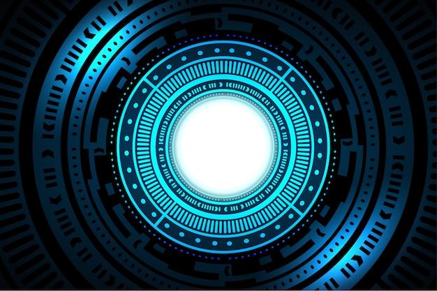 Interface de tecnologia hud abstrato