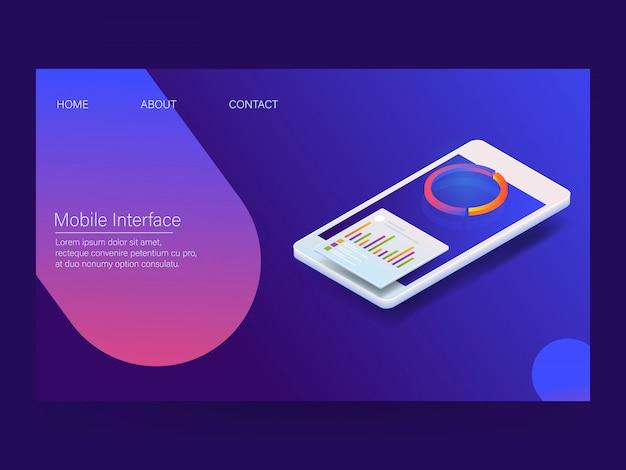 Interface móvel