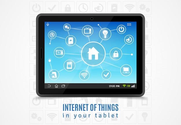 Internet das coisas tablet