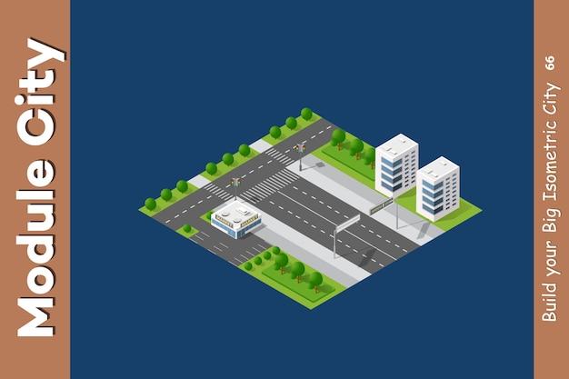 Interseção das ruas da cidade