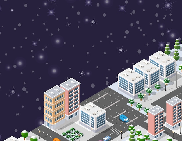Inverno natal urbano