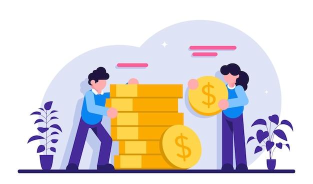 Investimento empresarial e economia de dinheiro