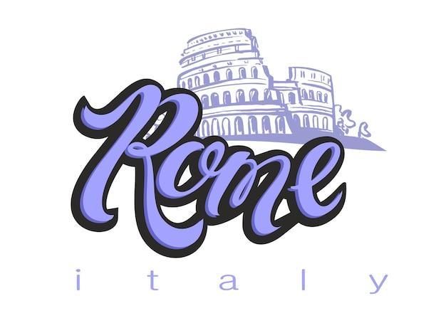 Itália. roma.coliseu.