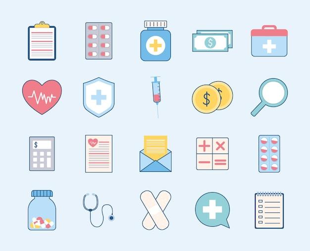 Itens de seguro saúde