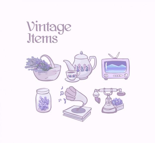 Itens vintage