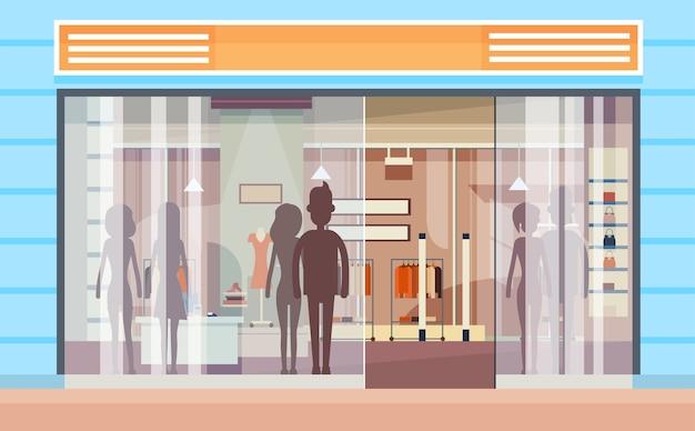 Janela de compras modern luxury shop exterior