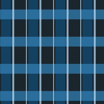 Janela preta e azul xadrez padrão de fundo sem costura
