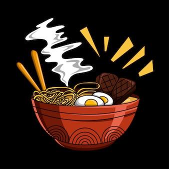 Japanese noodles premium
