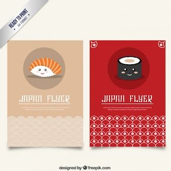 Japão panfleto