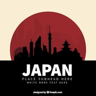 Japão silhuetas