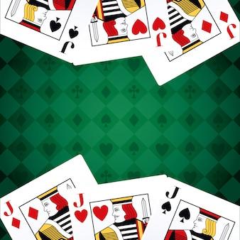 Jaques cartões convés apostas jogo cassino
