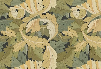 Jardim de flores por William Morris