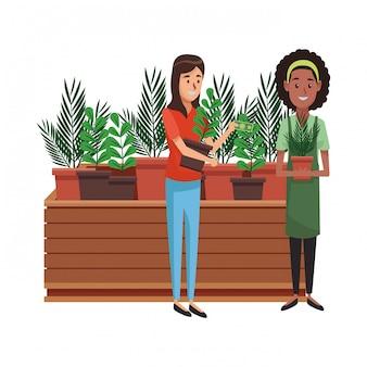 Jardim e jardineiros