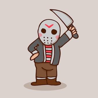 Jason do dia das bruxas