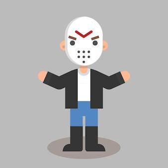 Jason plana do dia das bruxas
