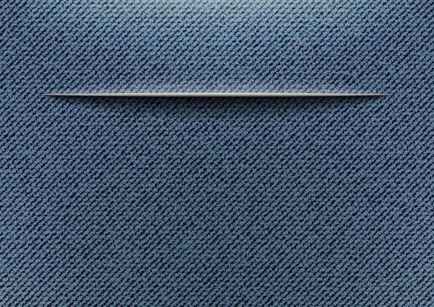 Jeans com corte