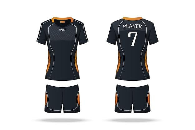 Jersey de voleibol de especificação