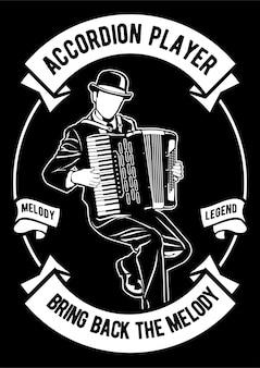 Jogador de acordeão