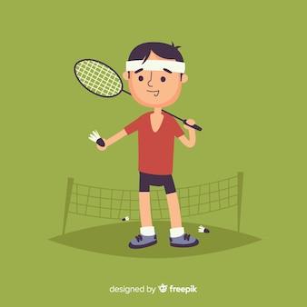 Jogador de badminton