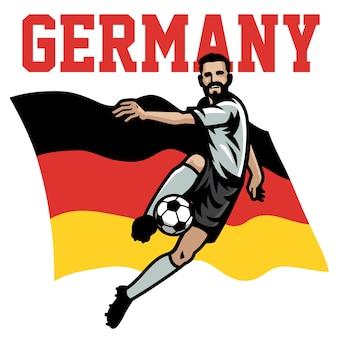 Jogador de futebol da alemanha