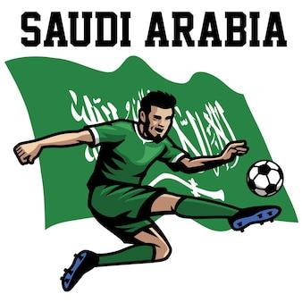 Jogador de futebol da arábia saudita