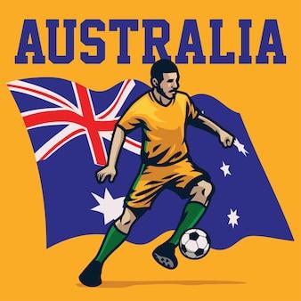 Jogador de futebol da austrália