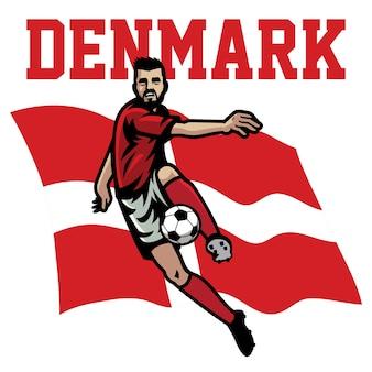 Jogador de futebol da dinamarca