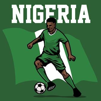 Jogador de futebol da nigéria