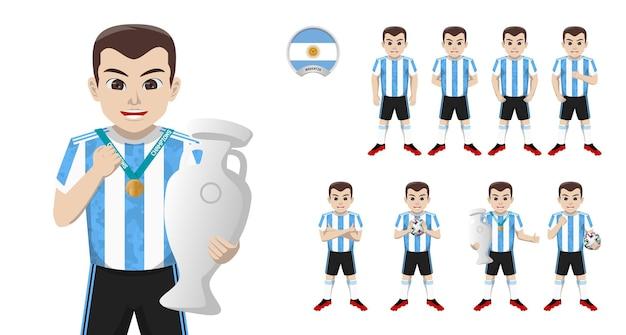 Jogador de futebol da seleção argentina