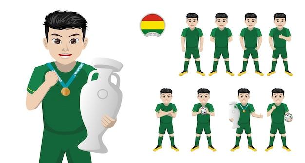 Jogador de futebol da seleção boliviana