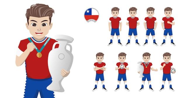 Jogador de futebol da seleção chilena