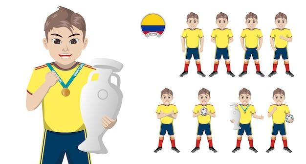 Jogador de futebol da seleção colombiana