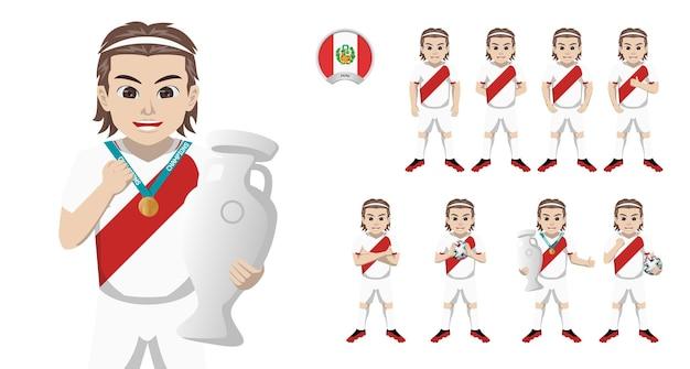 Jogador de futebol da seleção peruana