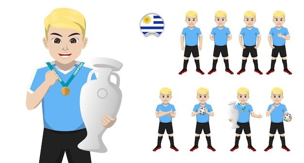 Jogador de futebol da seleção uruguaia