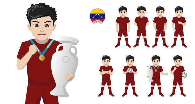 Jogador de futebol da seleção venezuelana