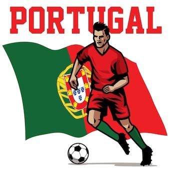 Jogador de futebol de portugal