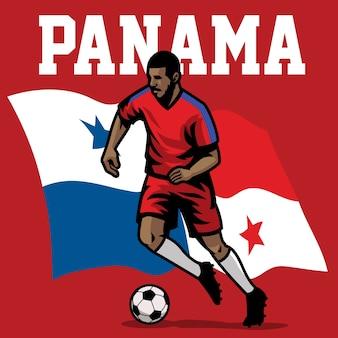 Jogador de futebol do panamá